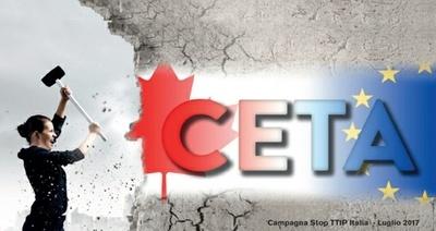 ADiC partecipa alla mobilitazione per bloccare la ratifica dell' accordo CETA