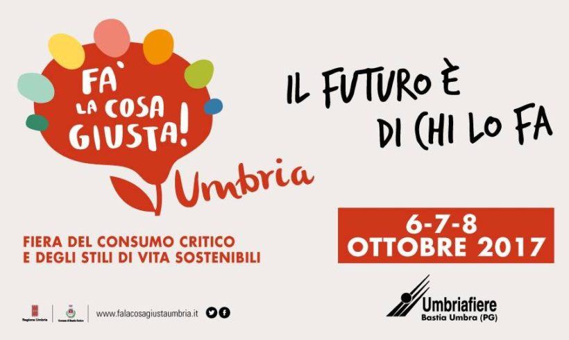 """ADiC Umbria partecipa alla fiera di Bastia Umbra """" Fa' la cosa giusta"""""""
