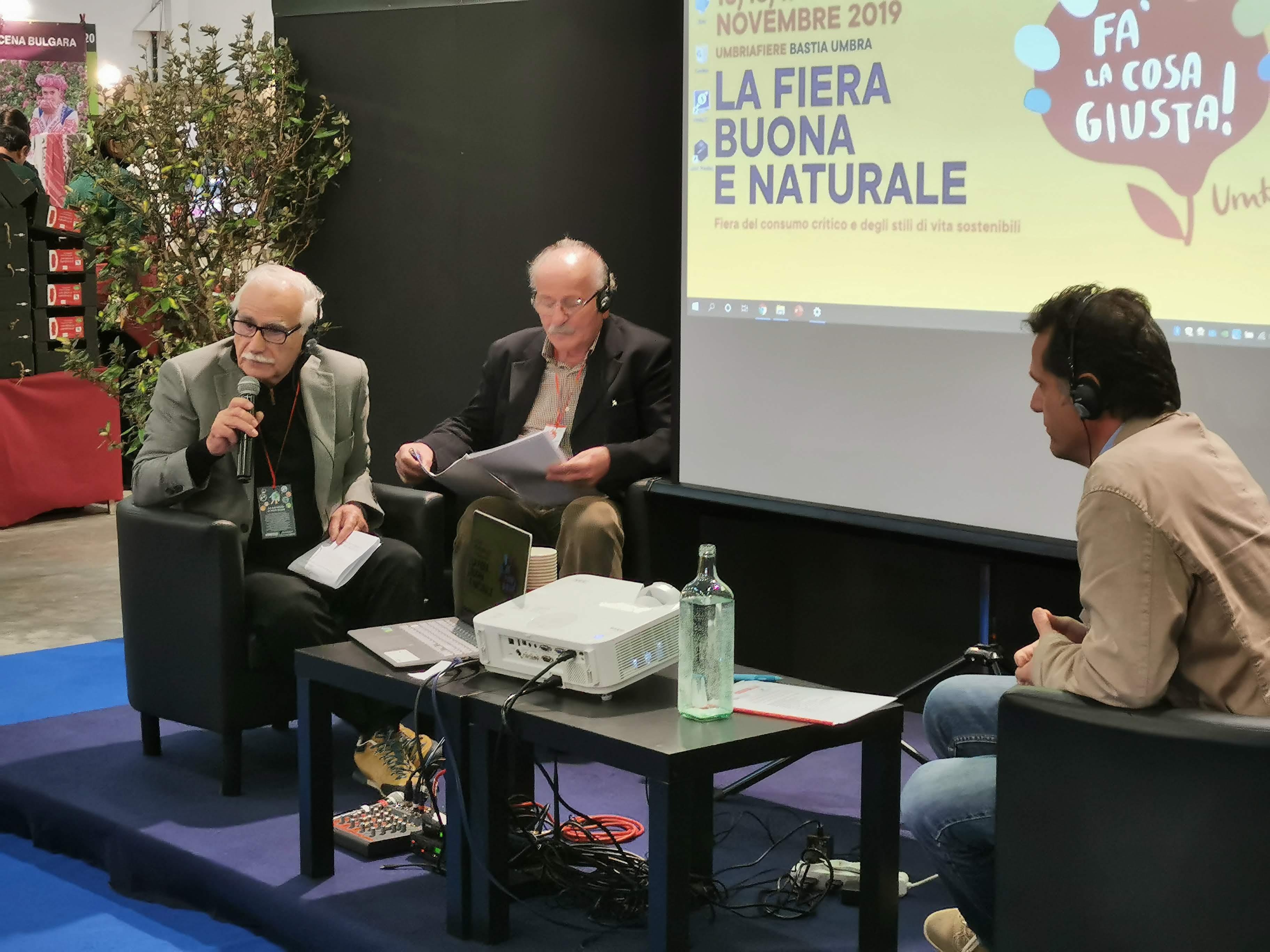 """Presentato il progetto Chiudiamo il Cerchio a """"Fa la Cosa Giusta Umbria"""""""
