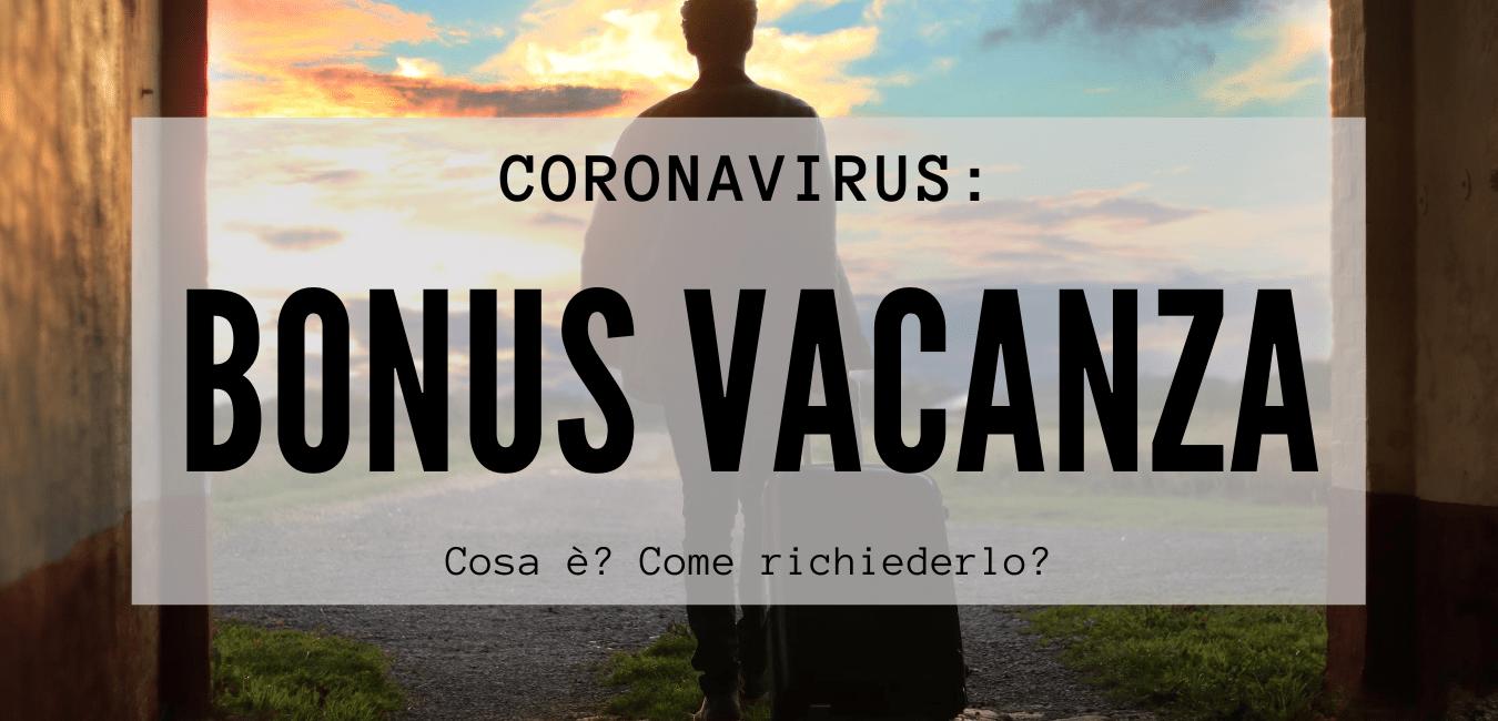 Coronavirus, bonus vacanze